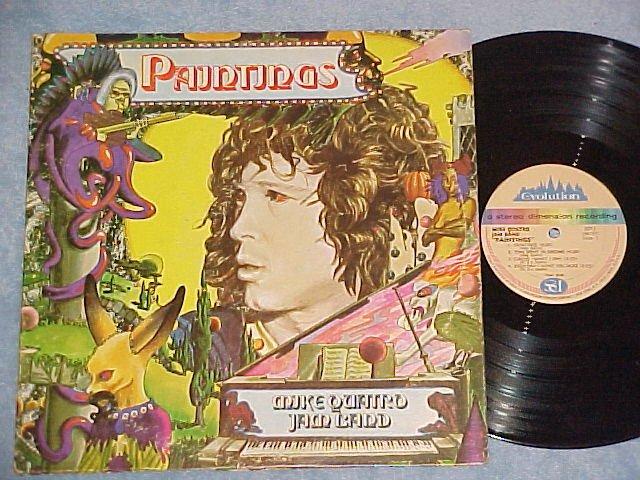 MIKE (Michael) QUATRO JAM BAND-PAINTINGS-NM/VG+ 1972 LP