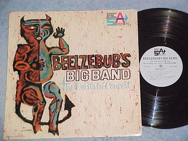 BEELZEBUB'S BIG BAND--Duke Univ. Devils in Concert--LP
