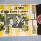 BEI MIR BISTU SCHOEN--VG+ 1961 Original Cast Sdk LP