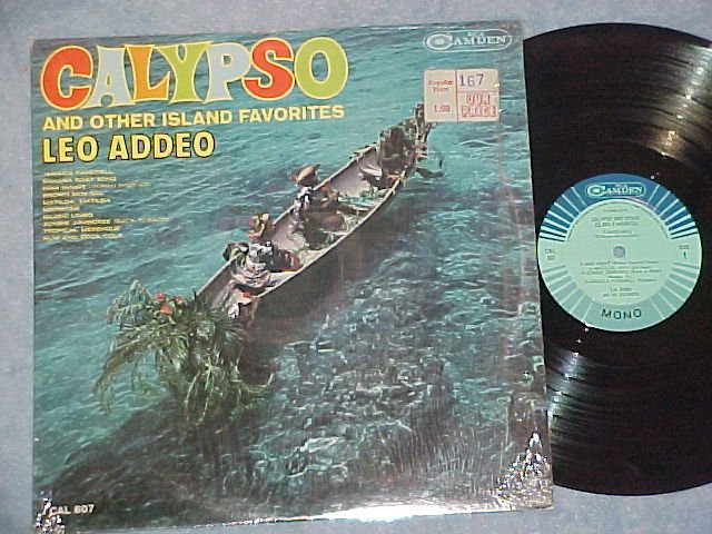 LEO ADDEO-CALYPSO AND OTHER ISLAND FAVORITES-NM 1963 LP