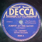78-AL COOPER'S SAVOY SULTANS-JUMPIN' AT THE SAVOY-Decca