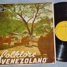 L F RAMON Y RIVERA-FOLKLORE VENEZOLANO-'53 Venezuela LP