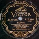 78--GENE AUSTIN--RAMONA--1928--Victor Scroll 21334
