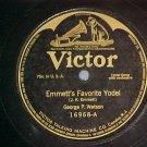 78-GEORGE P. WATSON-EMMETT'S FAVORITE YODEL-1911-Victor