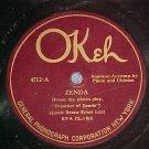 78-EVA CLARK/REGA DANCE ORCH--ZENDA-1922-Okeh 4712--VG+
