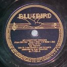 78-BOBBY BREEN--MY CAMPFIRE DREAMS--1937--Bluebird 7168