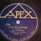 Canada 78--MDE. J. R. TREMBLAY--Apex 15121--VG+