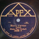 Canada 78-PAUL DUFAULT--BLUETS D'AMOUR-Apex 12008--VG++
