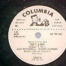 WL Promo 78-GUY MITCHELL AND MINDY CARSON--THAT'S A-WHY