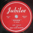 78--LEE TULLY--ESSEN--1947--Jubilee 3501--VG+