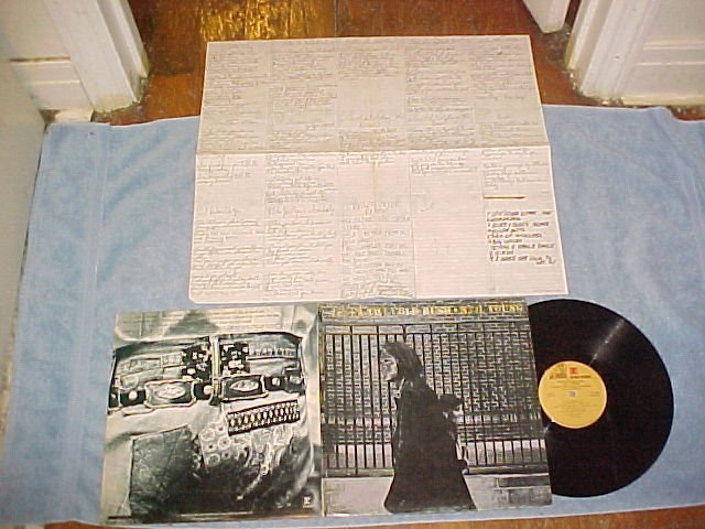 NEIL YOUNG-AFTER THE GOLD RUSH-VG++ 1978 LP w/NM Poster