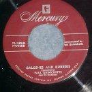 45-PAUL QUINICHETTE--GALOSHES AND RUBBERS-Mercury 70138