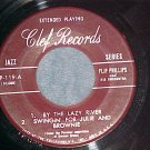 EP-FLIP PHILLIPS AND HIS ORCHESTRA-Mid-50's-Clef 119-NM