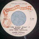 WLPromo45-CONNIE PARSONS-DO YOU KNOW..Dixieland Jubilee