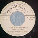 WLPromo 45-GLENN MILLER-ISLE GOLDEN DREAMS-RCA 447-0032