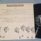 Verve DISC JOCKEY SAMPLER-AUGUST 1962-VG++/VG+ Promo LP