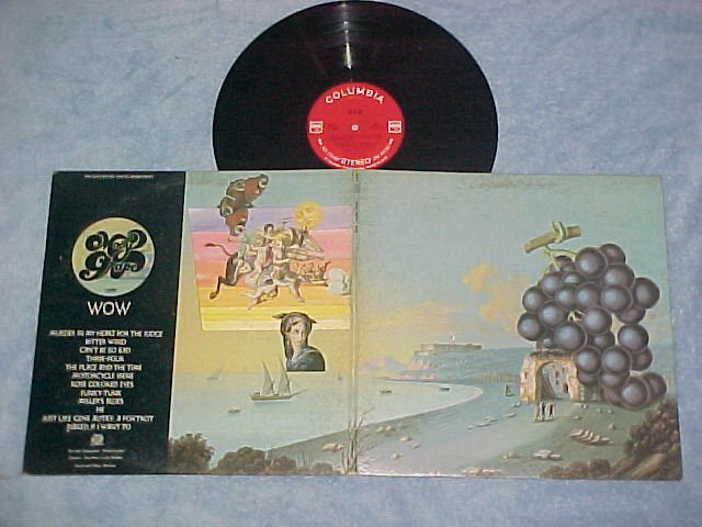 MOBY GRAPE--WOW--NM/VG+ Stereo 1968 LP