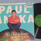 PAUL ANKA-MY HEART SINGS-1959 UK LP--Columbia 33SX-1196