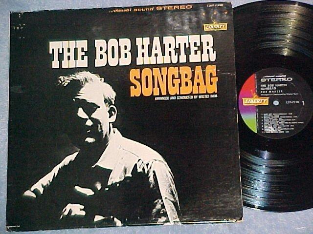 THE BOB HARTER SONGBAG--NM/VG+ Stereo 1963 LP--Liberty