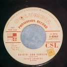 WL Promo 45-CATHY JOHNSON-ROCKIN' AND YODELIN'-1955-VG+