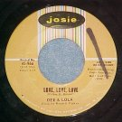 45-DEE AND LOLA--LOVE, LOVE, LOVE--1966--Josie 966--VG+