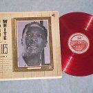 JOSH WHITE SINGS THE BLUES--Vol I--Red Vinyl LP-Stinson