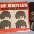 BEATLES-A HARD DAY'S NIGHT-'64 Sdk LP-RCA Pressing-RARE