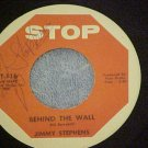 NM AUTOGRAPH 45-JIMMY STEPHENS-BEHIND THE WALL-Stop 116