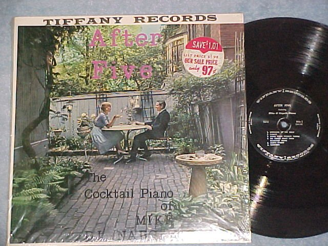 AFTER FIVE--THE COCKTAIL PIANO OF MIKE DI NAPOLI--NM LP