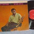 MILES DAVIS-MILESTONES -VG+/VG++ 1958 LP-Orig 6-eye lbl