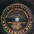 78-MONTANA SLIM-UNDER THE LIGHT...-Montgomery Ward 7266