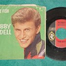 45w/PS-BOBBY RYDELL-THE FISH/THIRD HOUSE-1961-Cameo 192