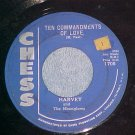 45--HARVEY AND THE MOONGLOWS--TEN COMMANDMENTS OF LOVE