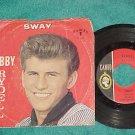 45 w/PS-BOBBY RYDELL-SWAY/GROOVY TONIGHT-1961-Cameo 182