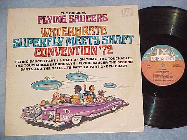 DICKIE GOODMAN--FLYING SAUCERS--1972 Compilation LP