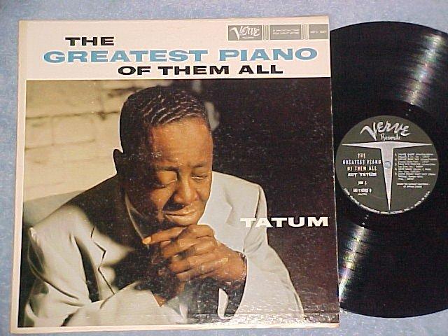 ART TATUM-THE GREATEST PIANO OF THEM ALL-NM/VG+ 1959 LP