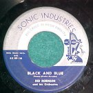 45-RED ROBINSON & ORCH--BLACK AND BLUE-Sonic Industries