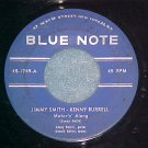 45-JIMMY SMITH & KENNY BURRELL-MOTORIN' ALONG-Blue Note