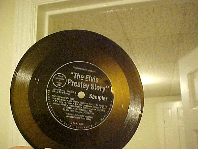 "6"" Flexi-Disc LLP/EP--THE ELVIS PRESLEY STORY--1977--NM"