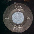 45-THE LEAVES-HEY JOE/FUNNY LITTLE WORLD-Mira 222--VG++