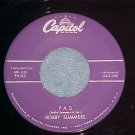 45-BOBBY SUMMERS-PAD/PARADE ROCK-1959-Capitol 4143-VG++