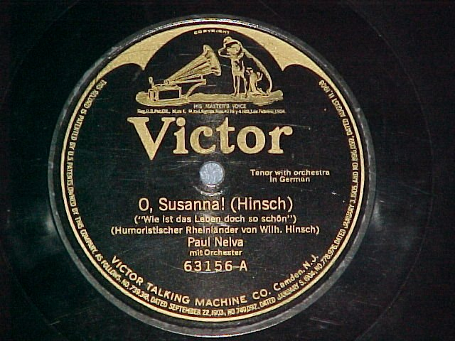 78--PAUL NELVA/MAHR-PREUSS-STEHMANN--Victor 63156--VG++