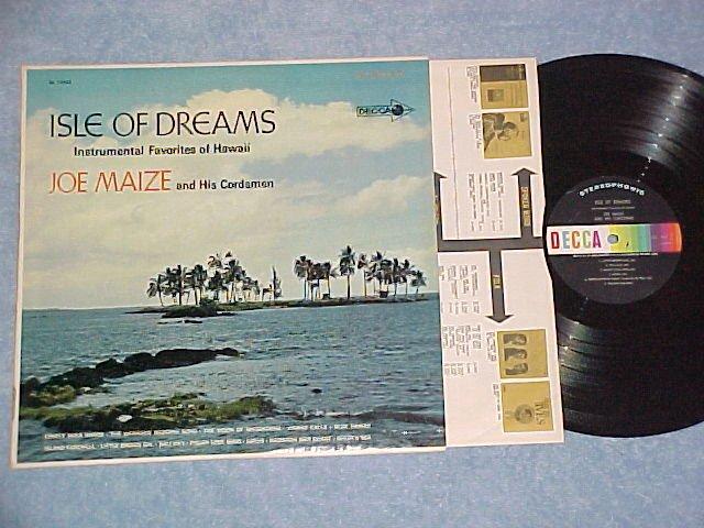 JOE MAIZE AND HIS CORDSMEN-ISLE OF DREAMS--NM Stereo LP