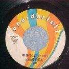 45-McKINLEY MITCHELL-NO LOVE-1962--One-derful 4804--VG+