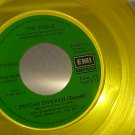 45-THE FOOLS--PSYCHO CHICKEN-1980-Promo-Yellow Vinyl-NM