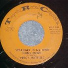 45--PERCY MAYFIELD--STRANGER IN MY OWN HOME TOWN--1964