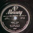 78-REX ALLEN-DON'T CHA/YODELIN' CRAZY-1949-Mercury 6269