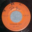 45-LOUIS JORDAN-TEXARKANA TWIST-1962-Tangerine 924--VG+