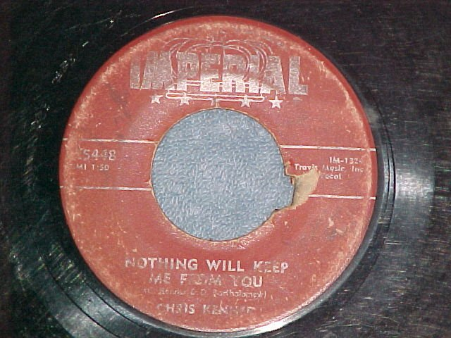 45--CHRIS KENNER--SICK AND TIRED--1957--Imperial 5448