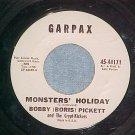 45--BOBBY BORIS PICKETT--MONSTERS' HOLIDAY--Garpax--VG+